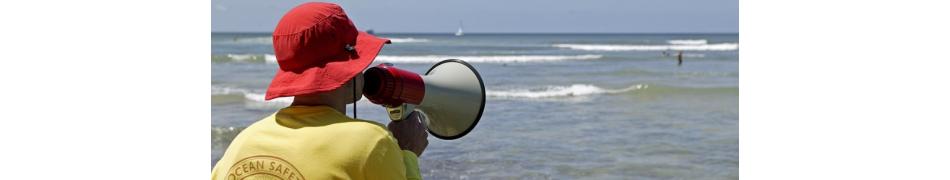 SWEAMMER tous les mégaphones et portes voix pour maîtres-nageurs